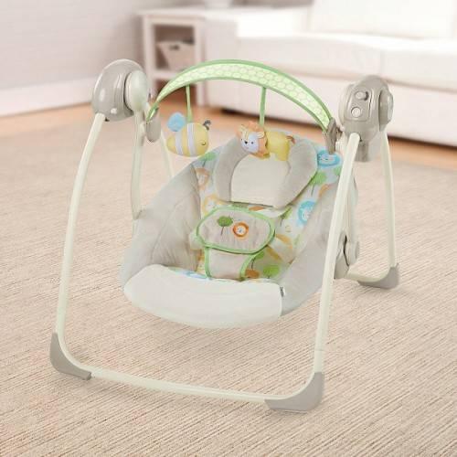 Качели для новорожденных. обзор лучших моделей ~