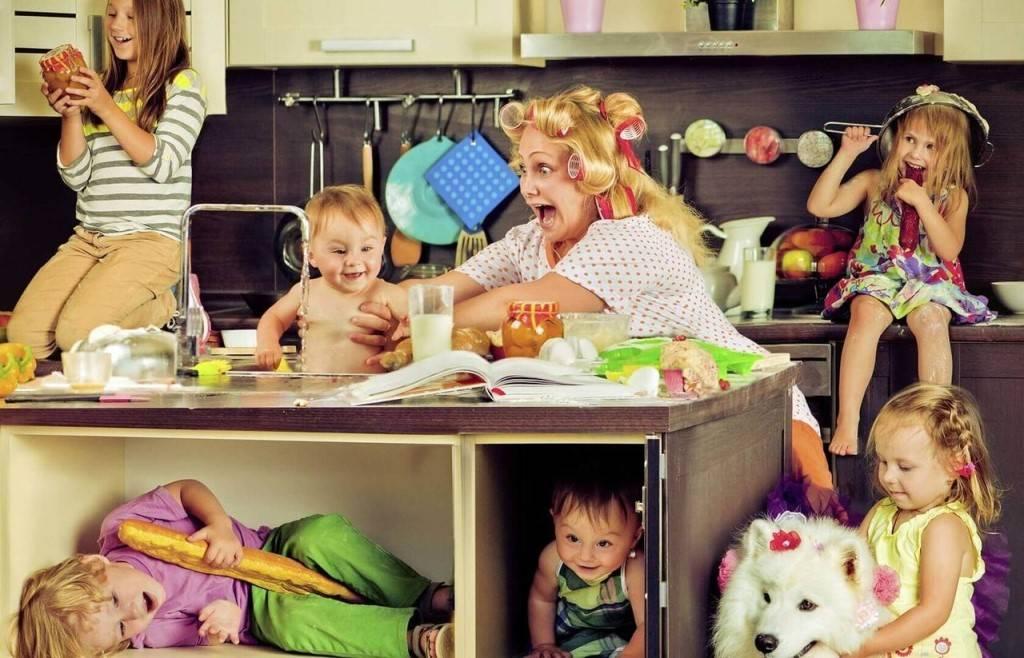 Как подмосковные мамы совмещают работу, хобби и воспитание трех-четырех детей