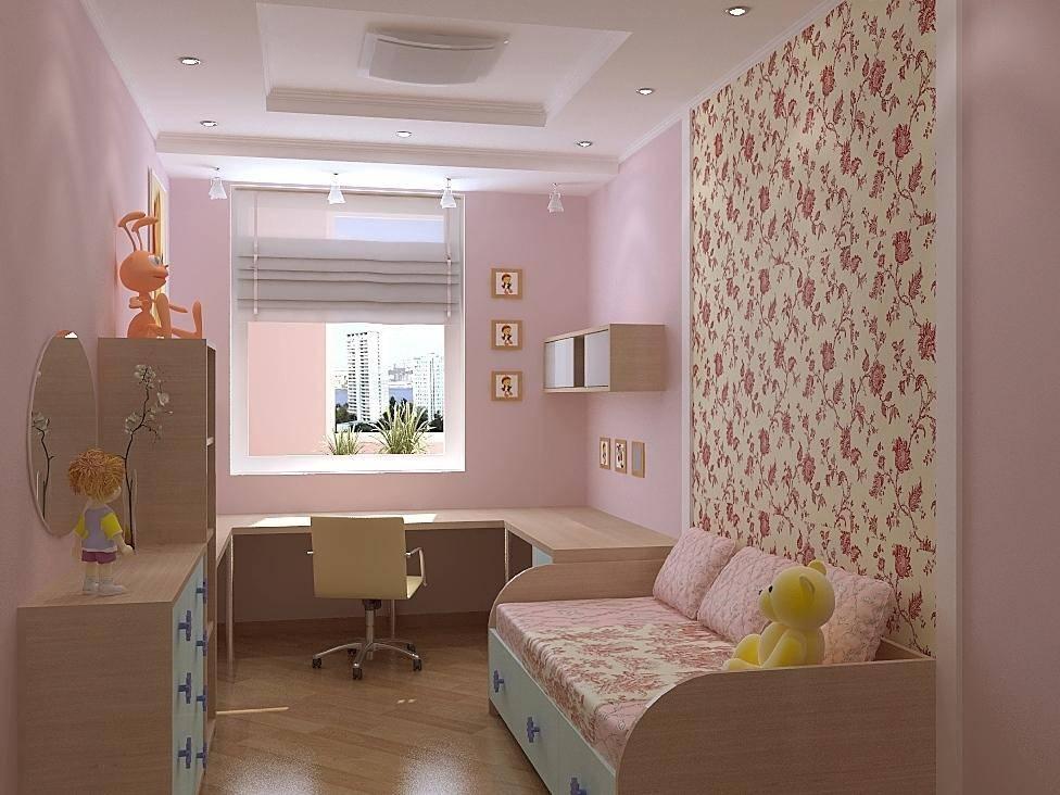 Оформляем спальню ребенка: возможности использования комбинированных обоев в детской комнате
