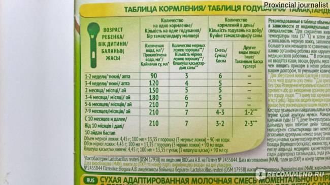 Нестожен (nestogen) детское питание: срок годности и условия хранения