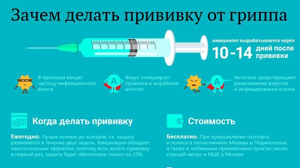 Прививка от гриппа: как это работает