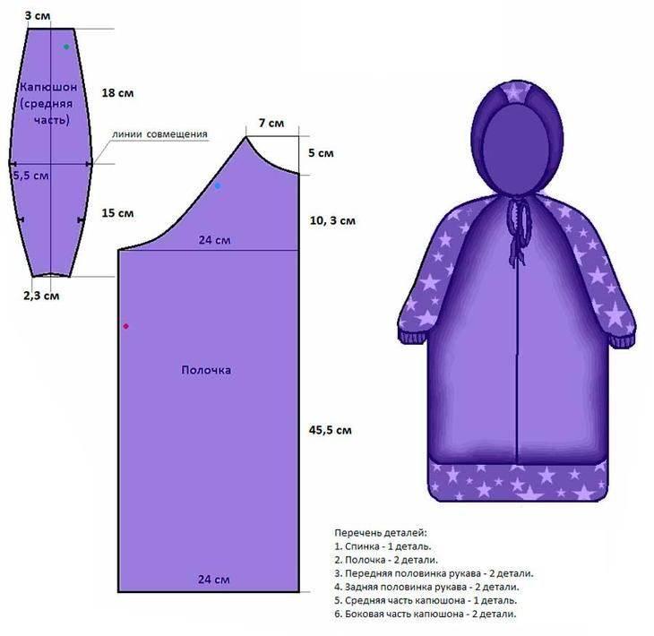 Спальный мешок для новорожденного. как сделать своими руками