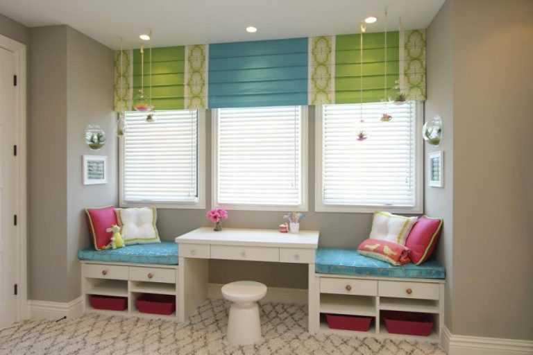 Шторы в детскую комнату: виды, выбор цвета и стиля, 70 фото в интерьере