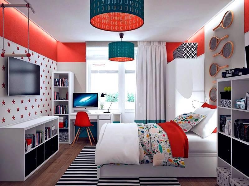 6 идей оформления комнаты подростка от икеа