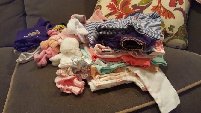 До какого возраста гладить детские вещи – советы