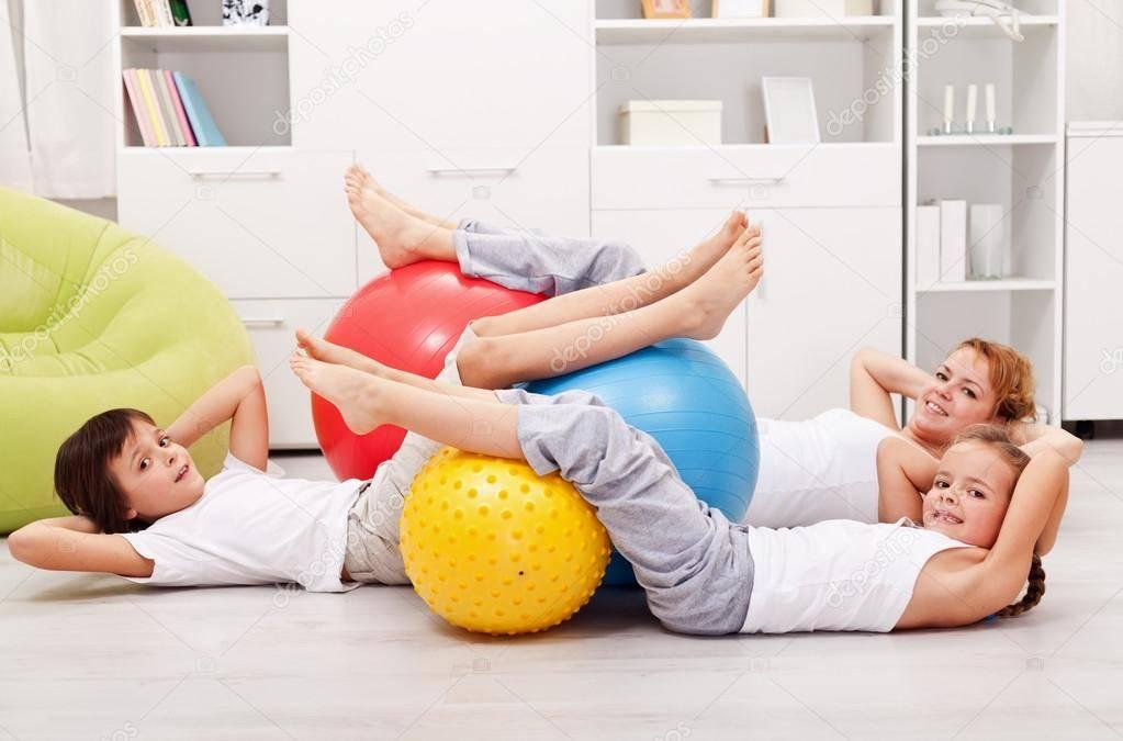 Детский фитнес - современный комплекс для детей в мельчайших подробностях. (фото и видео уроки)