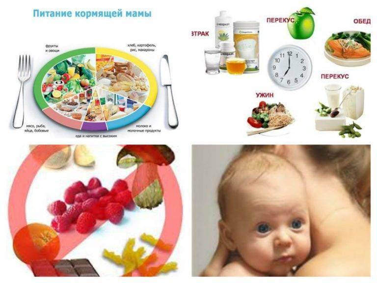 Питание кормящей мамы: таблица по месяцам – диета при кормлении новорожденного грудным молоком