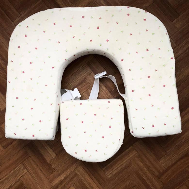 Пошив подушки для кормления новорожденного малыша