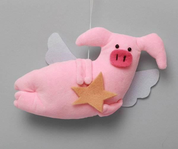Поделка свинья своими руками - новогодний символ 2019 года