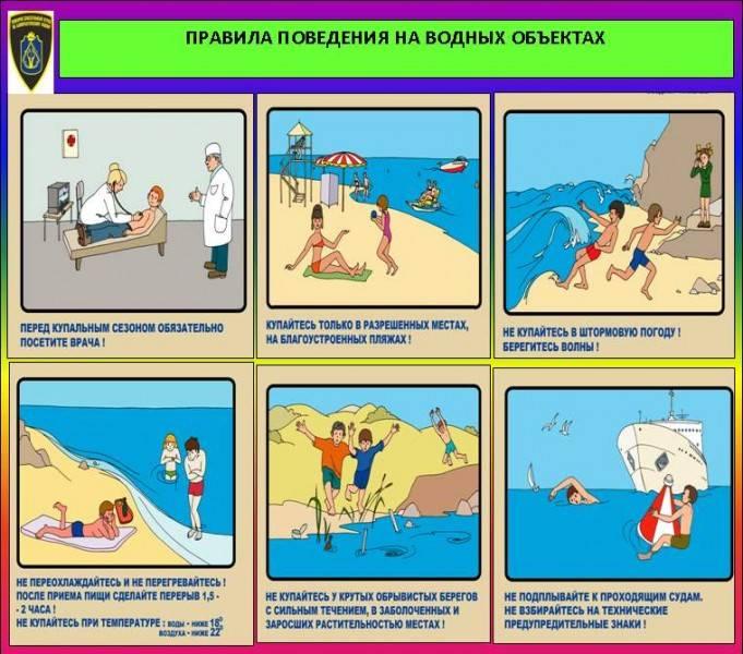 Меры по обеспечению безопасности  детей  на пляжах и в других местах массового отдыха на водоемах - страница 3