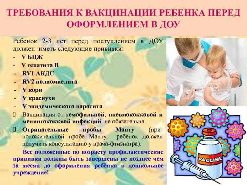 Подготовка ребенка к прививке АКДС