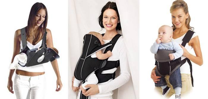 Эрго рюкзак для переноски ребенка: лицом вперед, на спине, с какого возраста