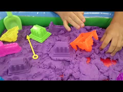 Как сделать кинетический песок за пару минут: домашние рецепты, инструкции и правила безопасности