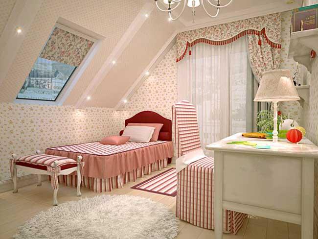 Спальня на мансарде - 120 фото идей дизайна