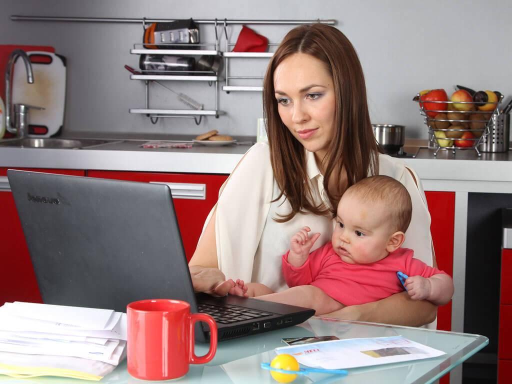 Заработок для мам в декрете - топ 7 реальных способов | видеоуроки по заработку