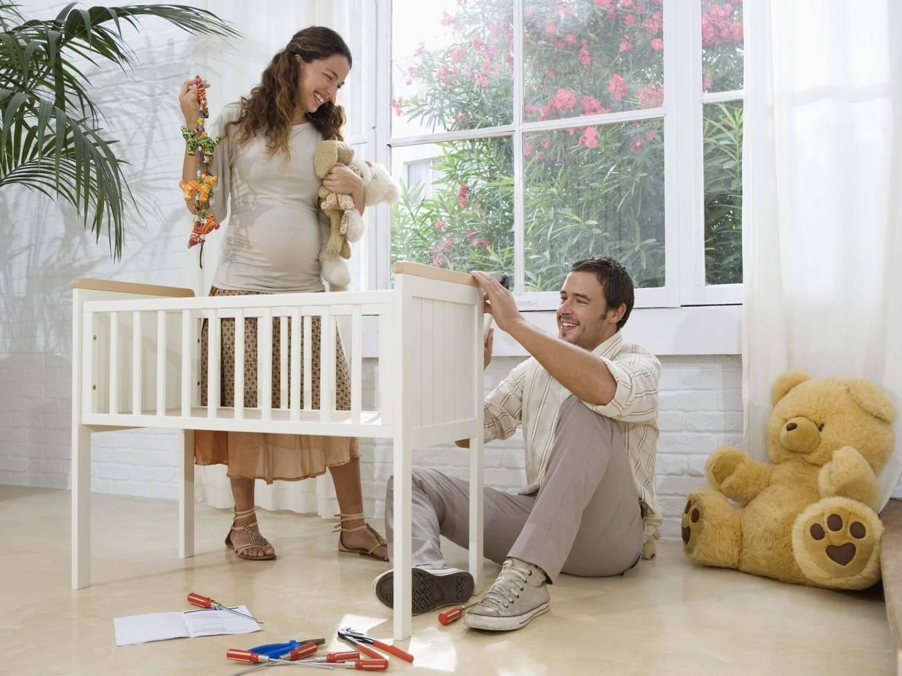 Обустройство быта перед рождением ребенка: 8 советов будущей маме