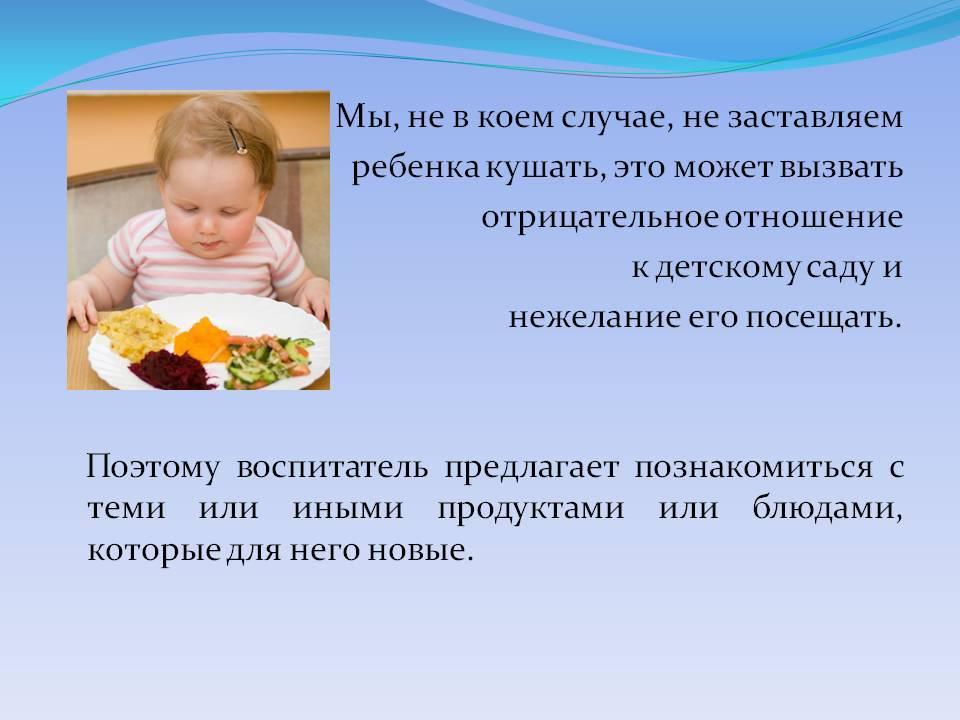 Нужно ли заставлять ребенка есть?