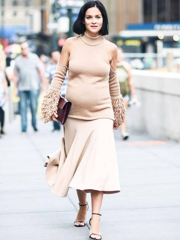 Мода для беременных 2019-2020 года, модная одежда для беременных фото