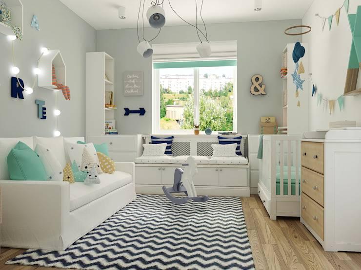 Почему скандинавский стиль идеален для детской комнаты