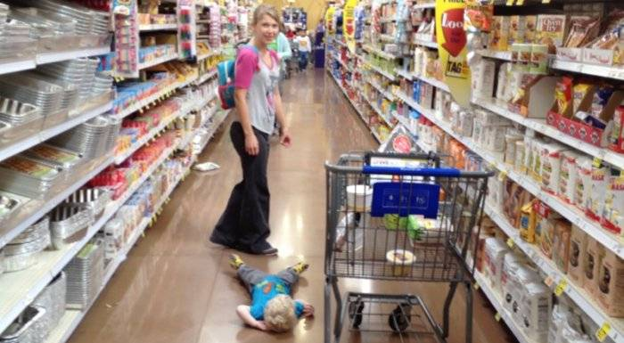 Истерики у детей: меньше магазинов и развлечений. детская истерика в магазине, как справиться
