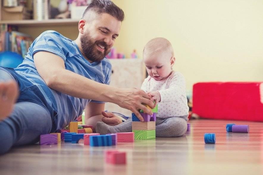 Во что папе поиграть с ребенком - mama.ua