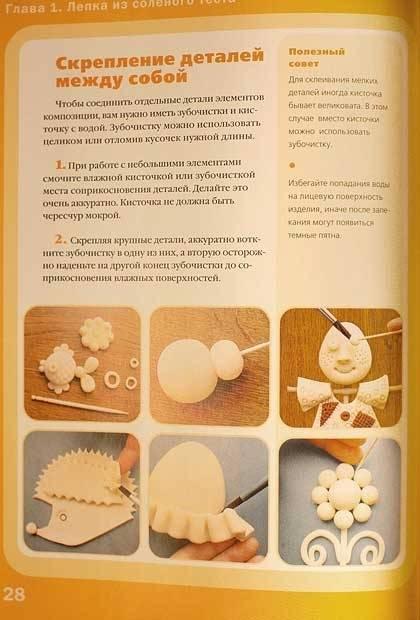 5 простых рецептов приготовления соленого теста для лепки