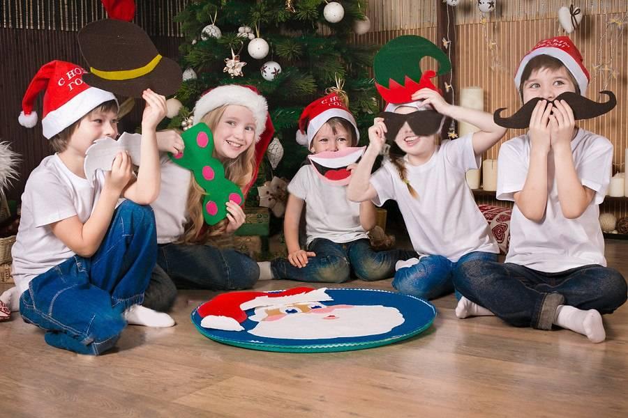 Новогодние конкурсы для детей   antrio.ru