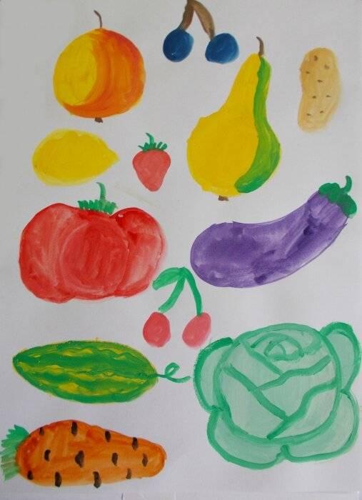 Конспект занятия по рисованию «любимые фрукты»