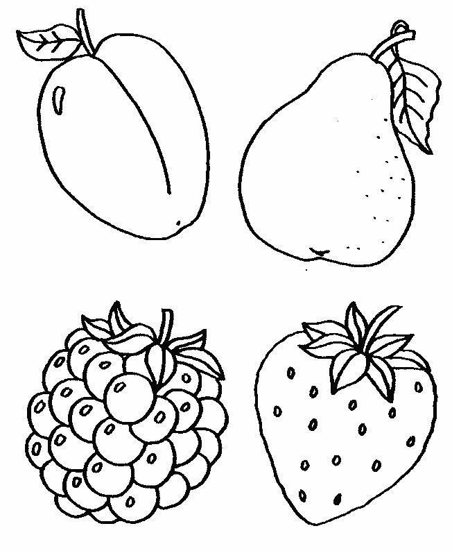 Учимся рисовать с детьми фрукты, овощи и ягоды — как нарисовать фрукты — хобби и развлечения