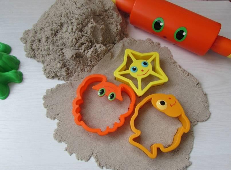 Топ-7 лучших рецептов кинетического песка