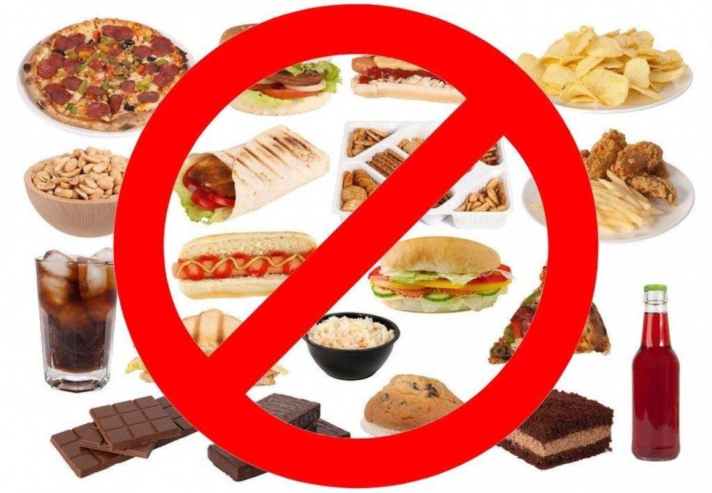 Какие продукты нельзя давать детям
