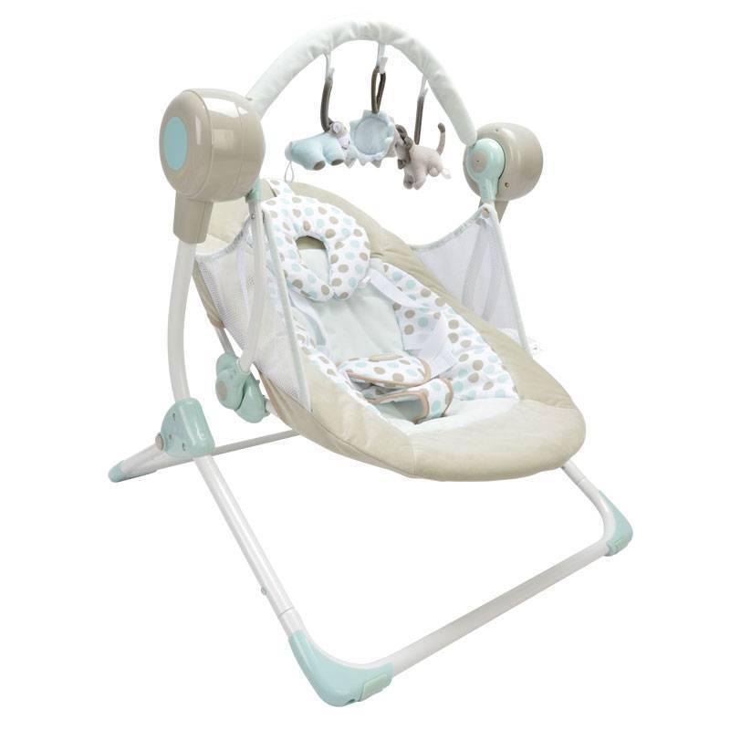 Качели для новорожденных. обзор лучших моделей