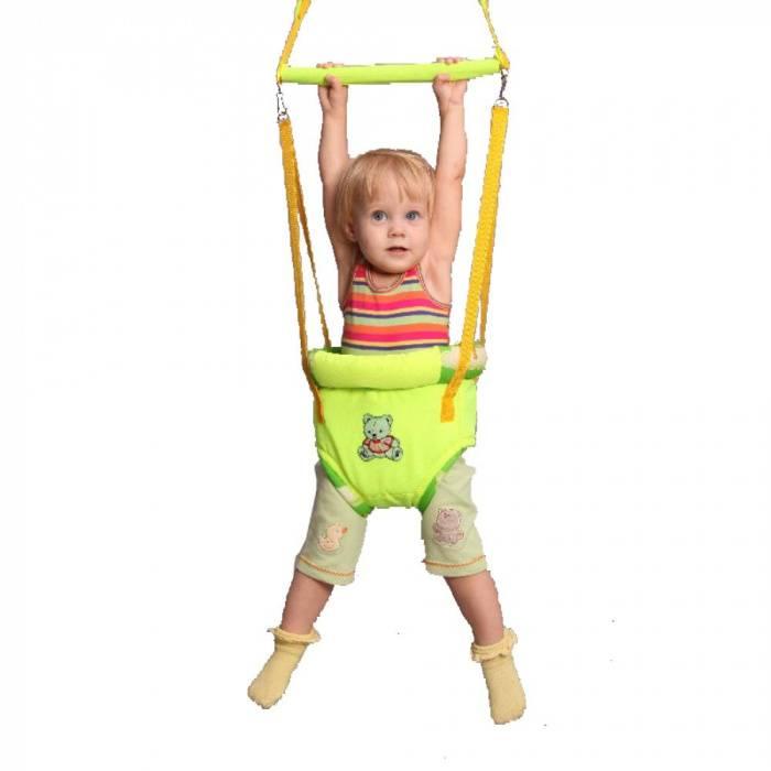 Прыгунки для мальчиков и девочек, с какого возраста, за и против?