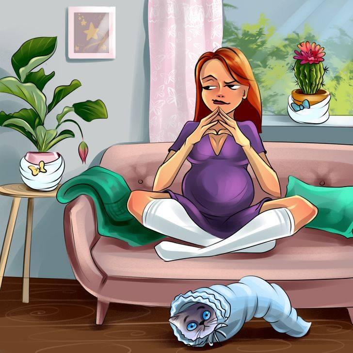 Ранний токсикоз при беременности – причины, виды, способы борьбы