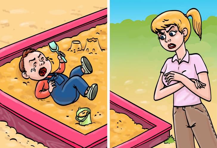 Конфликт на детской площадке: вмешиваться или нет родителям?