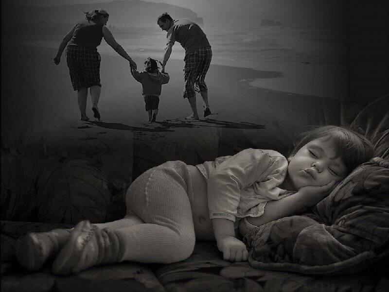 «панически боюсь за ребенка»