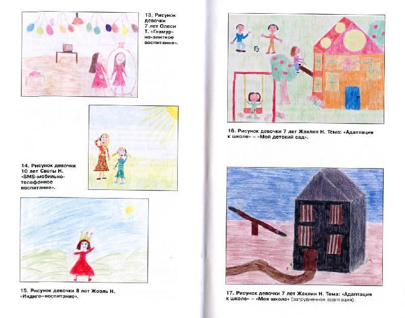 Психология детского рисунка: что означают рисунки