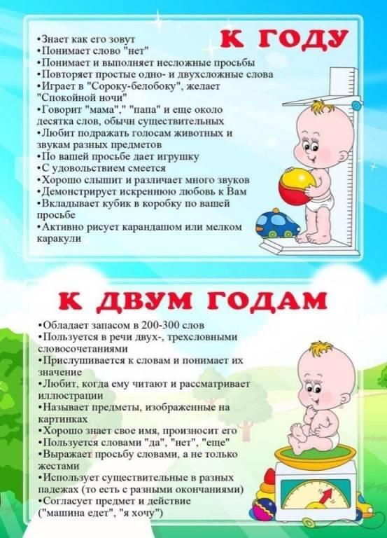 Развитие ребенка в 2 года – физическое, речевое, умственное