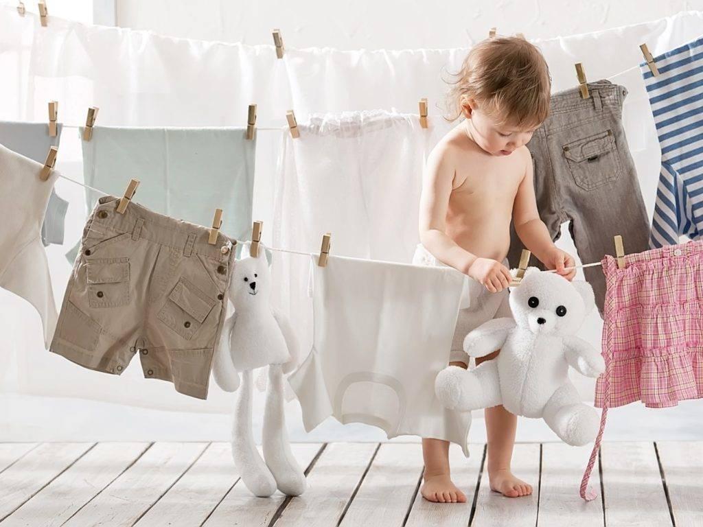 Как правильно и чем стирать детские вещи для новорожденных