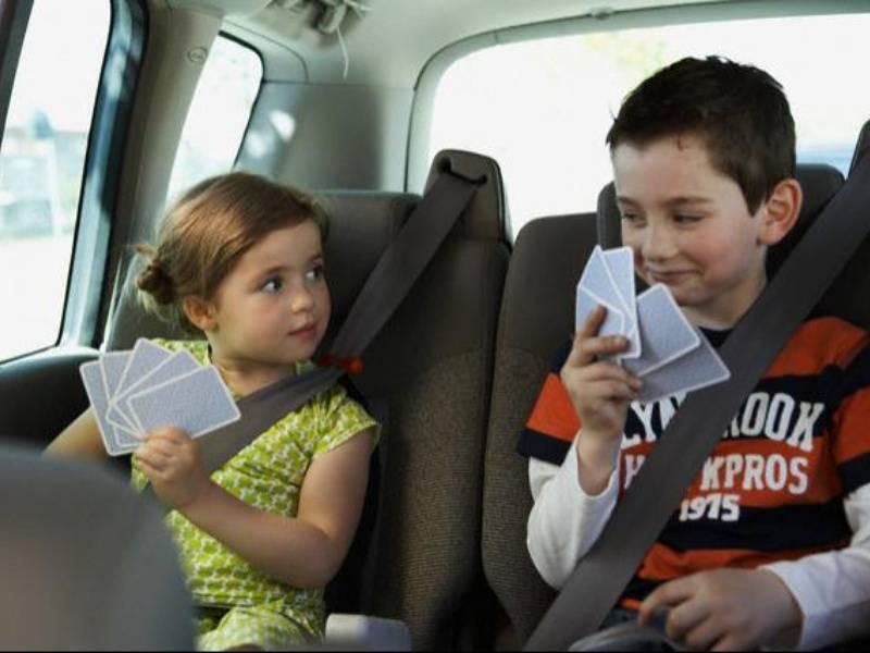 Чем занять ребенка в дороге   20 интересных способов