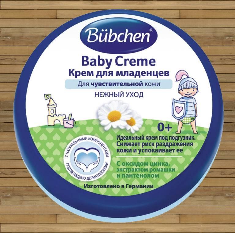 Крем под подгузник сравниваем крема bubchen, mustela, weleda и т