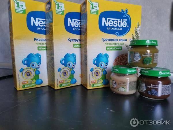 Рейтинг производителей лучших детских каш для прикорма грудничков