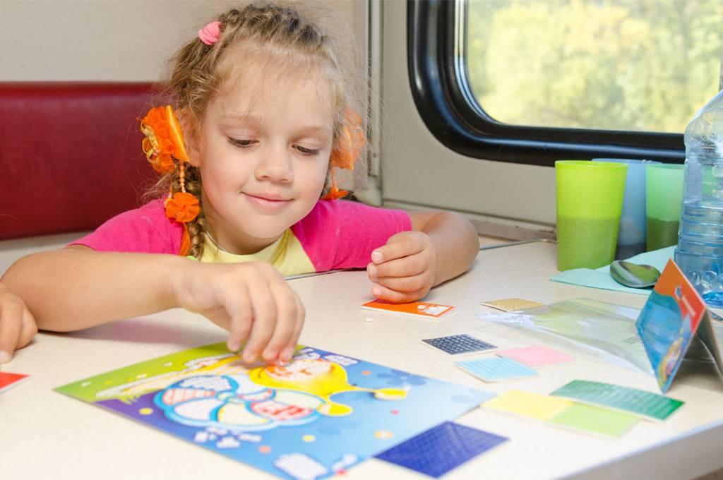 Какие развлечения могут помочь ребенку не скучать в полете?