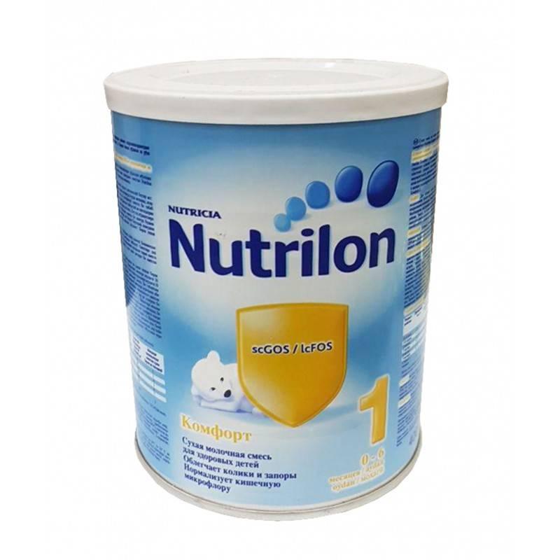 Детское питание «nutrilon comfort 1, 2» - состав, особенности и сравнение ~