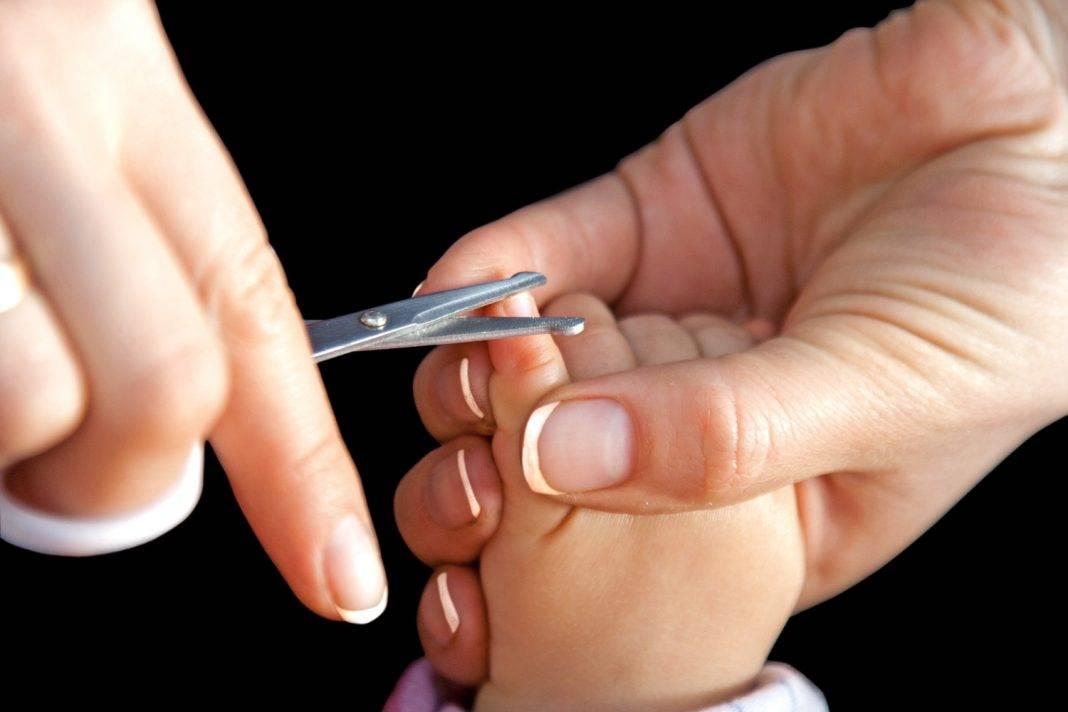 Как стричь ногти новорожденному на руках и ногах правильно - инструкция