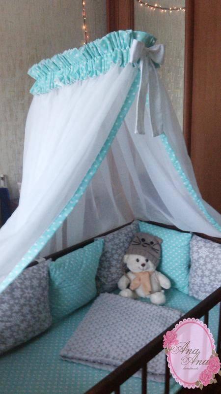 Балдахин на детскую кроватку — как создать сказочную атмосферу