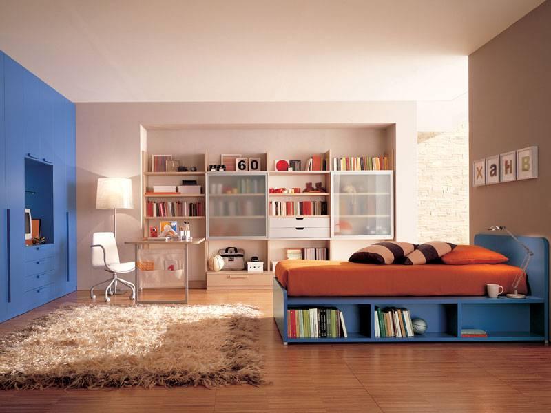 Комната для подростка: дизайн подростковой комнаты, дизайн комнаты подростка - интерьер комнаты для подростка, спальня, идеи