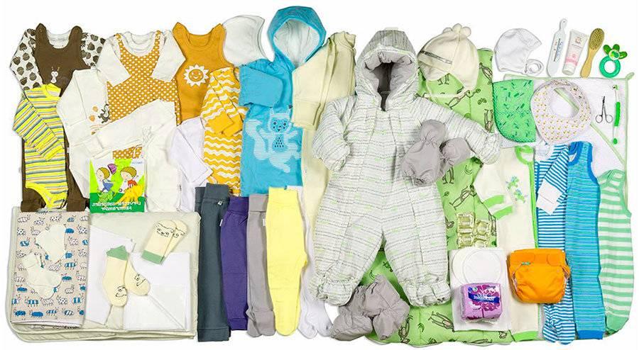 Какая одежда нужна новорожденному и сколько одежды необходимо новорожденному на первое время