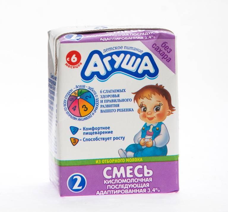 Смесь агуша 1 сбалансированная кисломолочная 3.5% 0.2л с 0 месяцев - купить в интернет магазине детский мир в москве и россии, отзывы, цена, фото