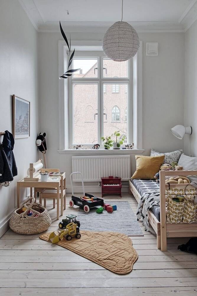 Детская в скандинавском стиле — стильный и уютный дизайна (80 фото)